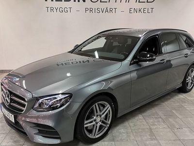 begagnad Mercedes E220 d AMG Paket // 1 Ägare // Vinterhjul