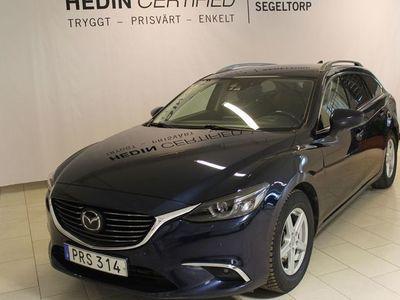 begagnad Mazda 6 2.2 Optimum AWD Nav 175hk S+V-Hjul