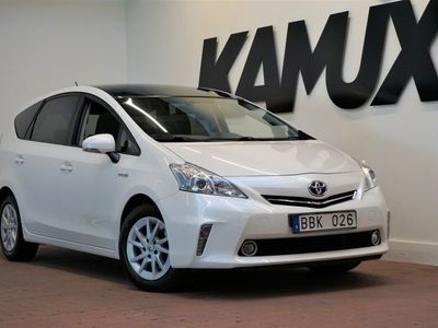 begagnad Toyota Prius+ Hybrid 1.8 VVT-i + 3JM CVT | 7Sits | Head-up