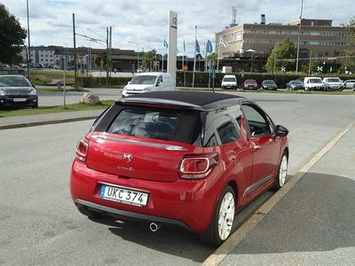 begagnad Citroën DS3 Cabriolet 90HDi EGS Automat