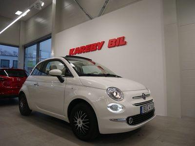 begagnad Fiat 500C 1.2 Euro 6 69hk Cabriolet