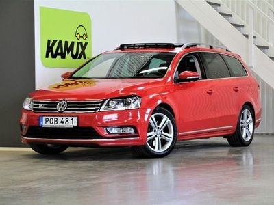 begagnad VW Passat 2.0 TDI 4M R-Line D-värme Pano Drag (177hk)