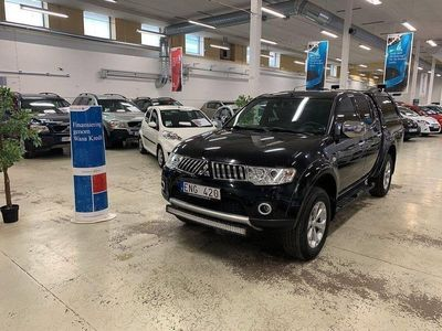 begagnad Mitsubishi L200 Auto Ny Servad Drag Ny Bes