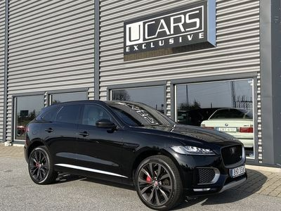 begagnad Jaguar F-Pace AWD SuperCharged 380HK / FIRST EDITION