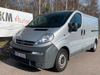 begagnad Opel Vivaro Van 2.5 DTI Quickshift 135hk