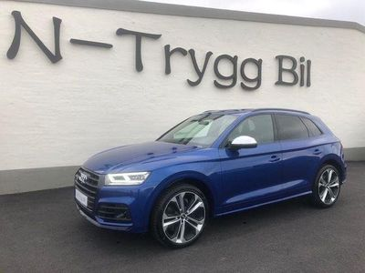 begagnad Audi SQ5 SEPANGBLÅ 1 ÄGARE LEASEBAR