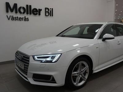 begagnad Audi A4 Avant 2.0 TDI 190HK SPORT Q S-TRONIC VÄRMARE DRAG