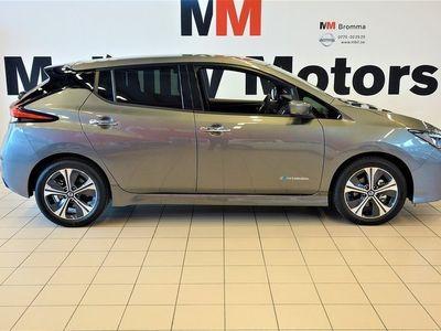 begagnad Nissan Leaf LeafTEKNA 40 kWh DARK GREY 4385:- PRIVATLEASING