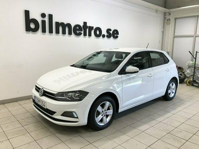 begagnad VW Polo 1.0TSI 95hk Lågmil/V-hjul