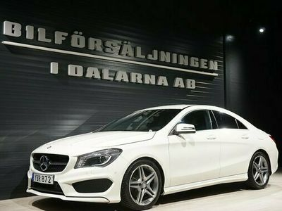 begagnad Mercedes 220 CLA Benzd 4MATIC AMG Sport Euro 6 2016, Sportkupé Pris 259 000 kr