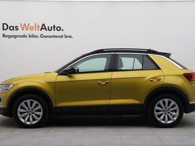 begagnad VW T-Roc TSI 190 DSG 4M Plus-pkt P-värmare