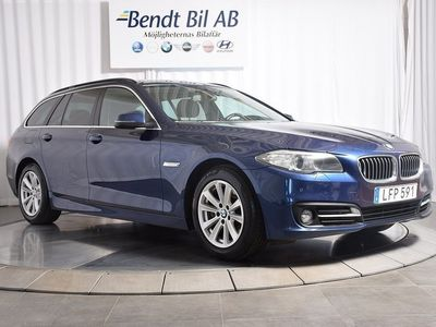 begagnad BMW 520 d xDrive Touring / Nav / 1 ägare -16