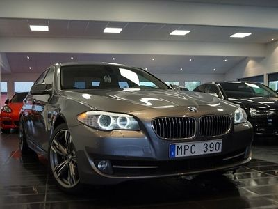 begagnad BMW 530 d 245kh auto / skinn / taklucka -10