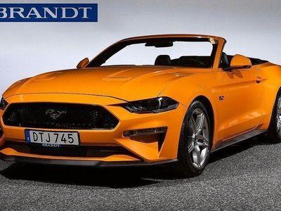 begagnad Ford Mustang GT Cabriolet V8 5,0 Automat-vxl,