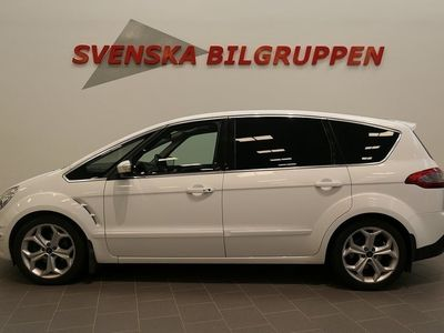 begagnad Ford S-MAX 2.2 TDCi Aut 7-sits Panorama Drag S+V hjul