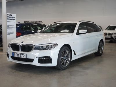 begagnad BMW 520 d Touring M-Sport Connected Värmare