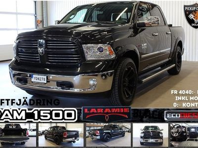 begagnad Dodge Ram LARAMIE BLACK ECODIESEL (fr 40