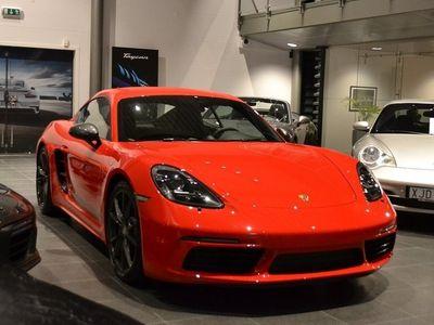 begagnad Porsche 718 Cayman T PDK Euro 6 300hk