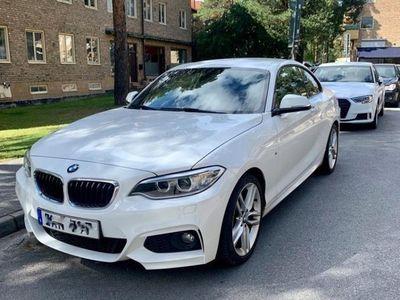 begagnad BMW 220 i M-Sport Coupé 184Hk - LÅGA MILTAL