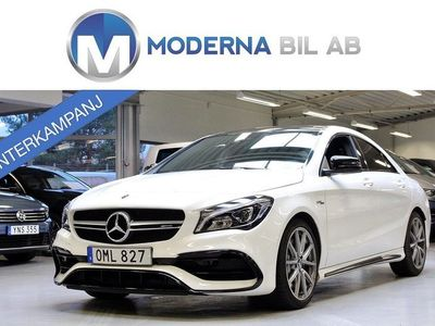 begagnad Mercedes CLA45 AMG 4M 381HK HARMAN PANO ACP AMG-NIGHT