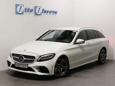 begagnad Mercedes C200 D AMG Kombi Aut, Nav, Drag