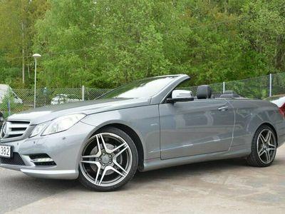 begagnad Mercedes E350 CDI V6 Cabriolet AMG 3900Mil #SE UTR#