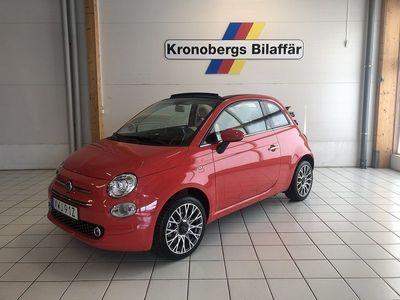 brugt Fiat 500C Lounge 1.2 69hk DEMO
