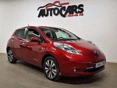 begagnad Nissan Leaf 24 kWh, Tekna / FINANS