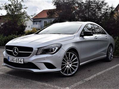 begagnad Mercedes 220 CLA-KlassCDI 7G-DCT Euro 6 170hk Sv-Såld