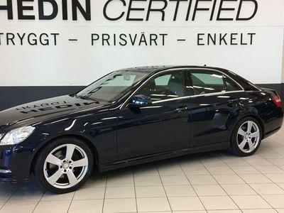 begagnad Mercedes E220 CDI (170hk) AMG STYLING / V-HJUL / LÅGA MIL