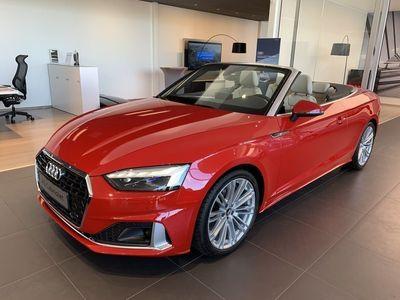 begagnad Audi A5 Cabriolet 40 TFSI S Tronic Proline Advanced 2020, Sportkupé 519 000 kr
