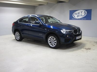 begagnad BMW X4 xDrive20d xDrive 20d EU6 Navi Skinn Värm
