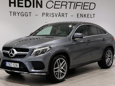 begagnad Mercedes GLE350 d 4MATIC Coupé/P-värmare/Airmatic