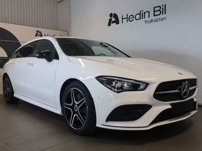begagnad Mercedes CLA220 Shooting Brake AMG-line PRIVATLEASINGKAMPANJ