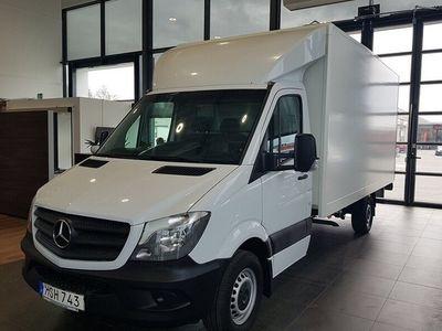begagnad Mercedes Sprinter Floby flakVolymskåp Automat