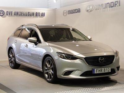 begagnad Mazda 6 Wagon 2.2 DE Optimum Automat AWD (175 -17