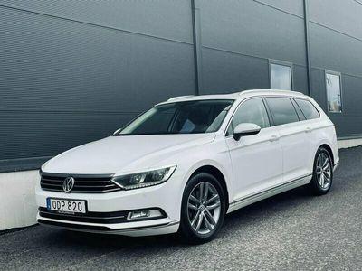 begagnad VW Passat 2.0 TDI SCR Executive/D-värm/Drag/Panorama