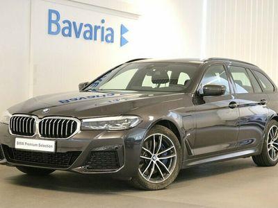 begagnad BMW 530 e xDrive Touring M Sport Drag HiFi Värmare Rattvärme