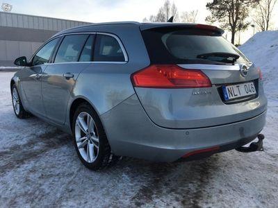 begagnad Opel Insignia 2.0 Tdci   4x4   Lågmil   Sport -11