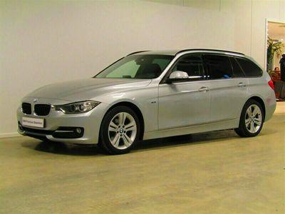 begagnad BMW 318 d Touring Aut Sport Line Drag