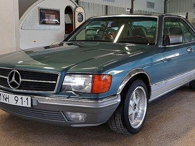 brugt Mercedes 380 SEC Automat 204hk -85