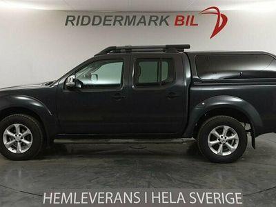begagnad Nissan Navara Dubbelhytt 2.5dCi 4x4 Aut 171hk Diffspärr Drag Kåpa