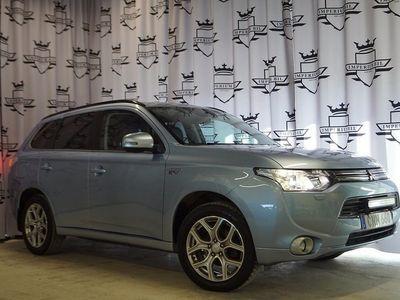 begagnad Mitsubishi Outlander P-HEV 2.0 Hybrid Business Navi 4WD CVT 203hk