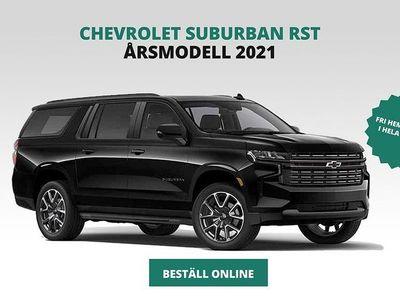 begagnad Chevrolet Suburban Z71 5,3L V8 Bensin/E85 355hk