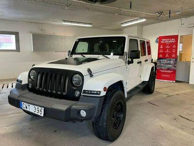 begagnad Jeep Wrangler Unlimited Sahara 3.6 V6 4WD Drag Euro 6 284hk