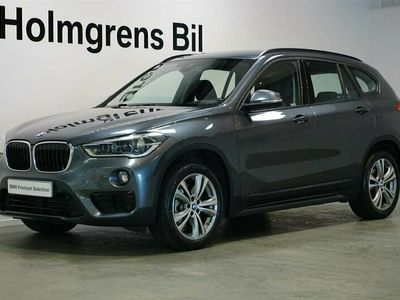 begagnad BMW X1 xDrive20d Aut Sport Line Head-Up Drag