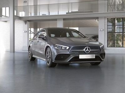 begagnad Mercedes CLA220 Shooting Brake privatleasing AMG-Line Drag Panorama