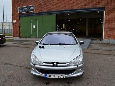 begagnad Peugeot 206 CC CAB GRIFF NY BES NY SERVAD