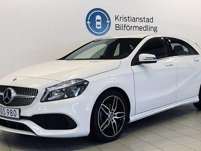 begagnad Mercedes 180 Benz A AMG Styling Apple Carplay 2018, Personbil 209 900 kr