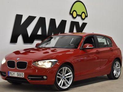 begagnad BMW 118 d Sport Line 143hk